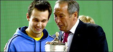 Зимний Чемпионат Москвы по теннису