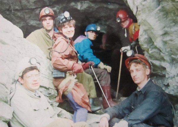 У входа в пещеру Пашия
