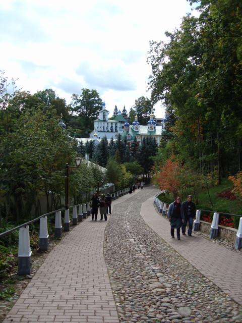Печёры крепость-монастырь