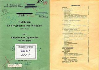 Зеленая папка в советской пропаганде, 1942 г.