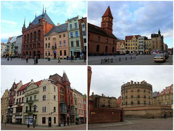 Торунь, (Toruń, Thorn), Польша. Город, поросший легендами.