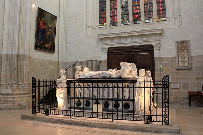 Надгробие Франциска II и Маргариты де Фуа_1