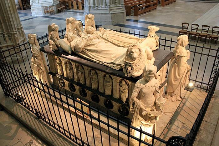 Надгробие Франциска II и Маргариты де Фуа_2