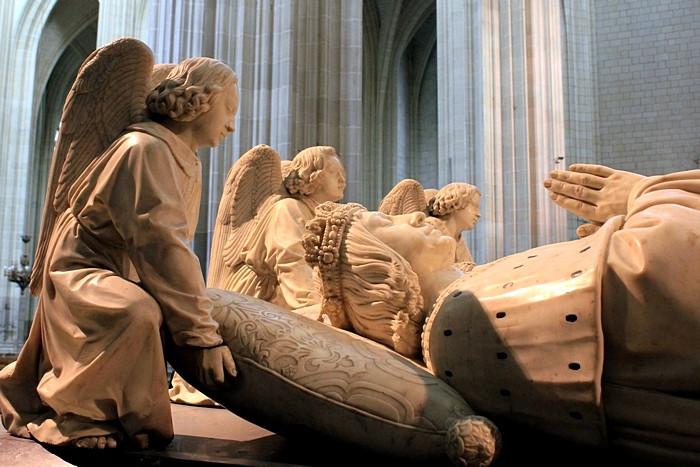 Надгробие Франциска II и Маргариты де Фуа_4