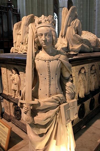 Надгробие Франциска II и Маргариты де Фуа_9