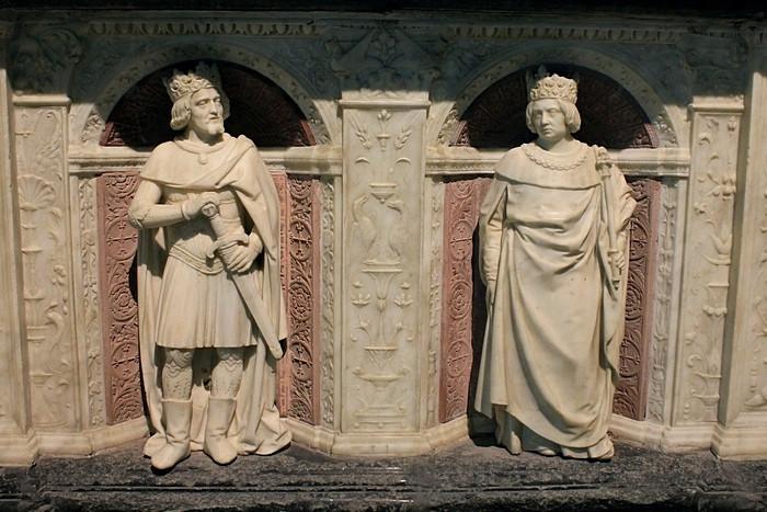 Надгробие Франциска II и Маргариты де Фуа_13