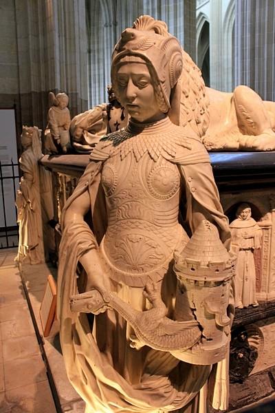 Надгробие Франциска II и Маргариты де Фуа_8