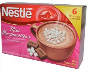 Нестле какао микс с маршмеллоу