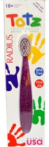 TOTZ Radius Зубная щетка для детей