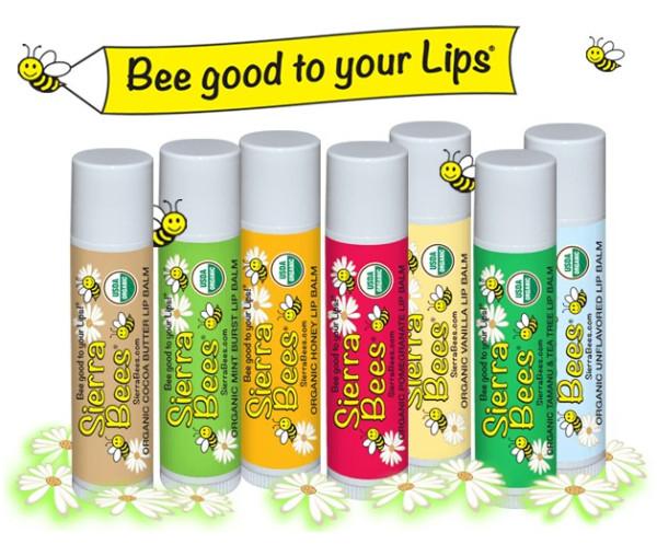 Бальзамы для губ Sierra Bees