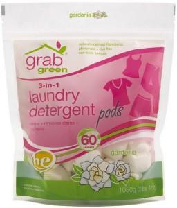GrabGreen Laundry Detergent Pods Gardenia