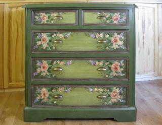 Мебель роспись и декор