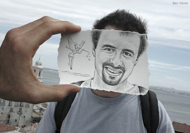 как фото сделать в виде рисунка