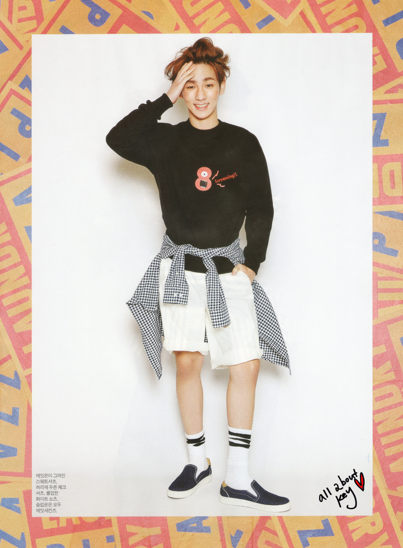 Your Favorite Fashion Icon Key on InStyle March Issue