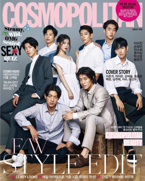 Moon Lovers Cast To Grace The Cover Of Cosmopolitan Next