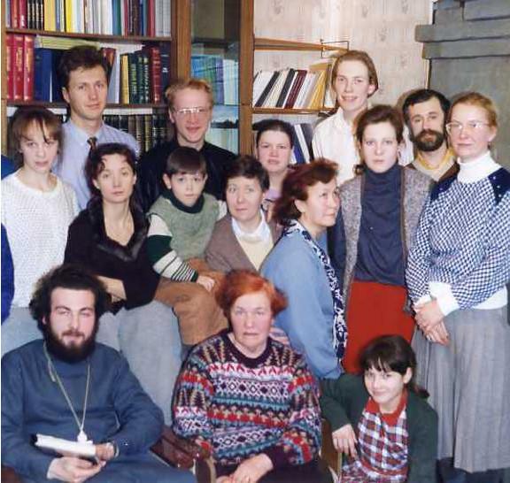 1группаВоцерковлениеРождество1995г_