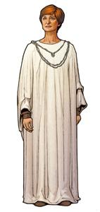 Mon Mothma, President pro tempore (voice by Genevieve O'Reilly)