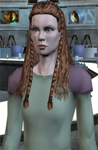 Pooja Naberrie, Delegate from Naboo (voice by Jaime King)