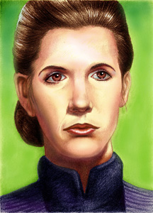Leia Organa (voice by Catherine Taber)