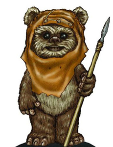Wicket, Delegate from Endor (Warwick Davis)