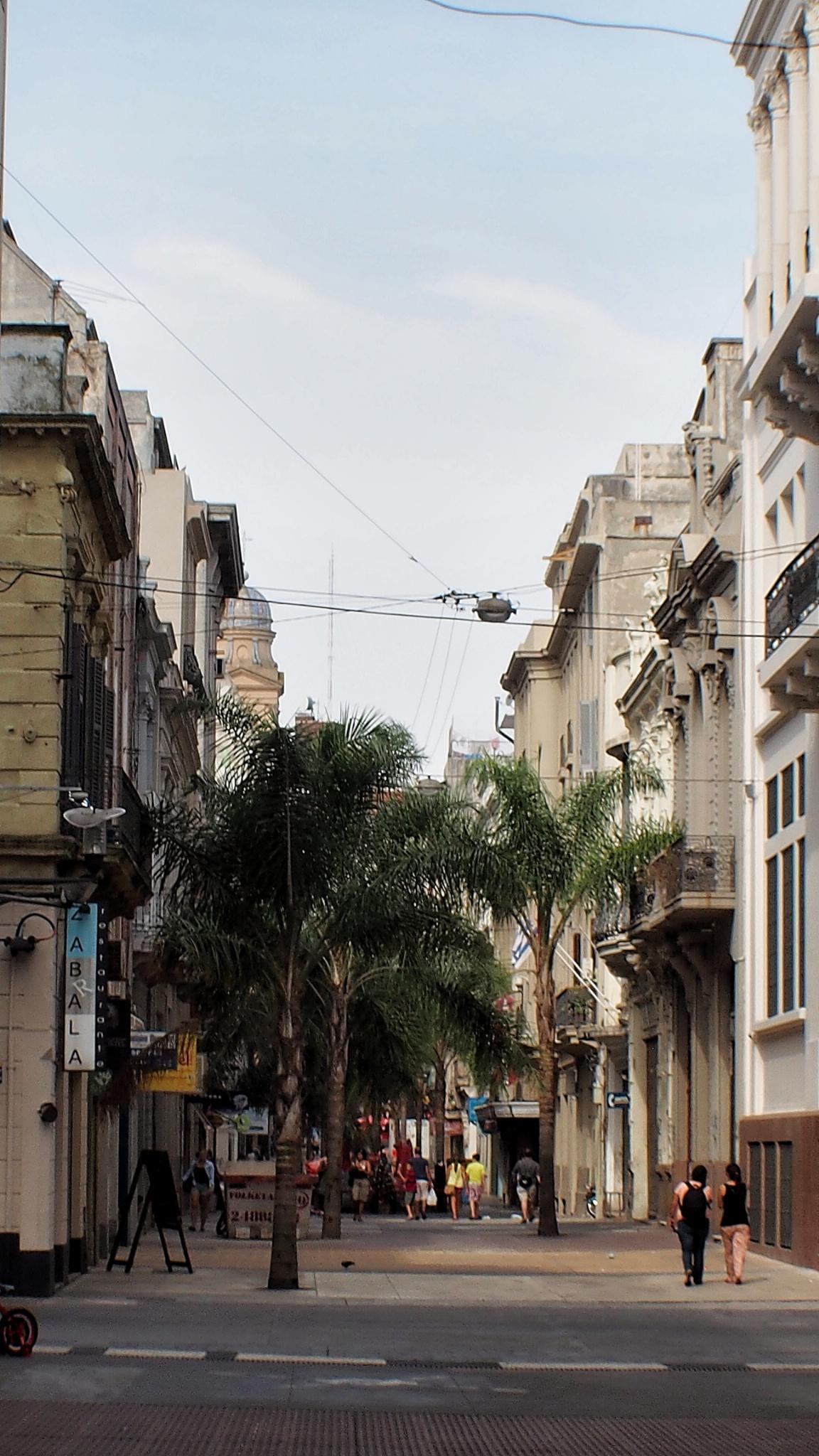 Улицы в центре города