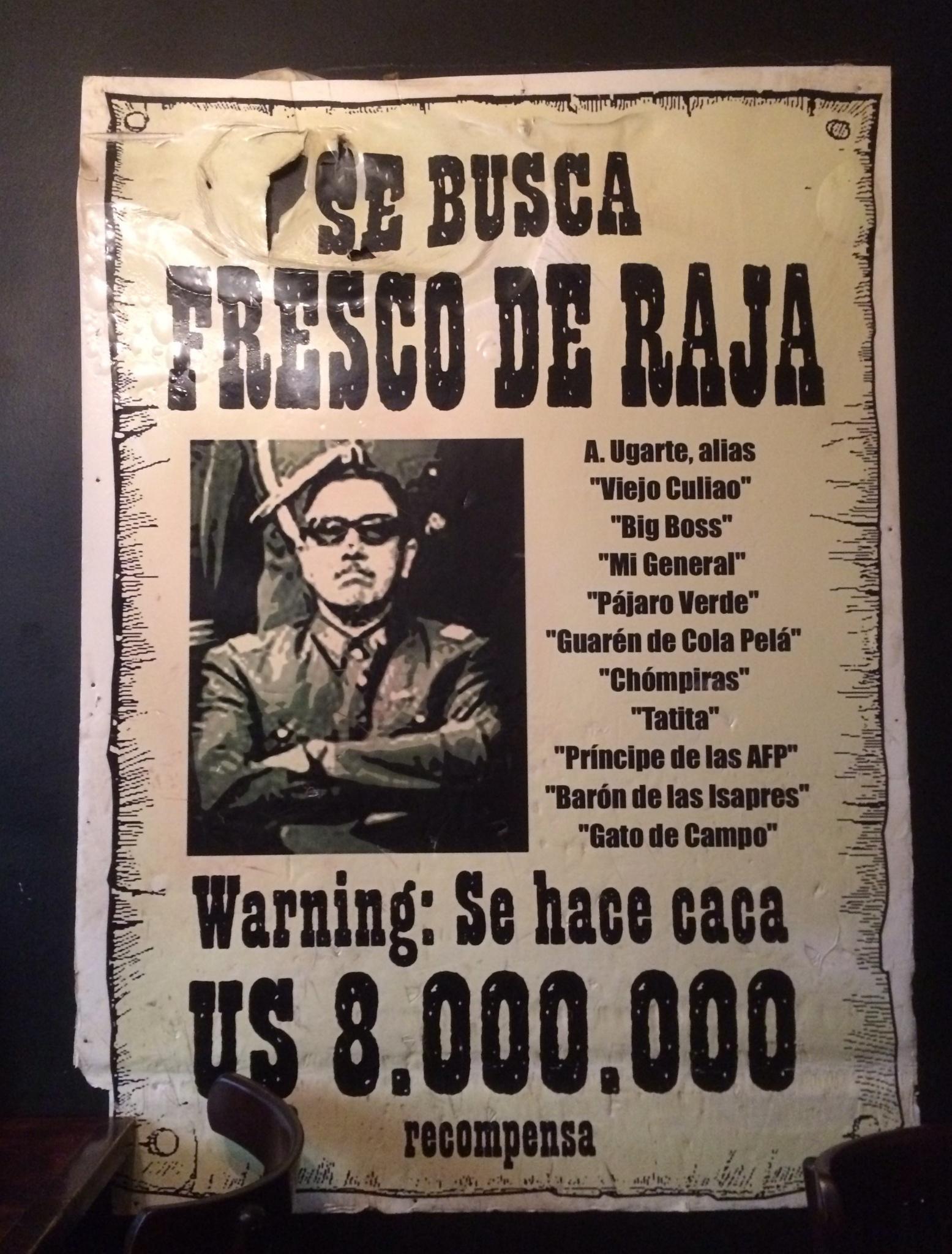 Фигура Пиночета в чилийском обществе воспринимается очень неоднозначно.