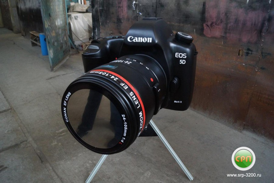 Готовая модель фотоаппарата