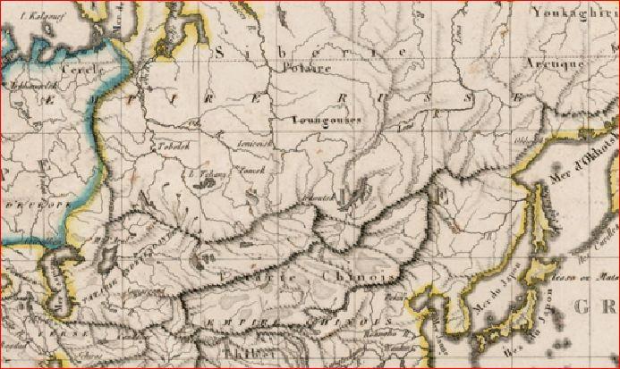 Тартария 1816 Ляпи француз