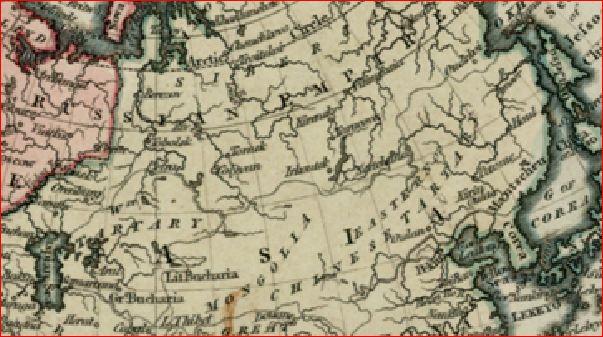 Тартария 1816 Кэри англ