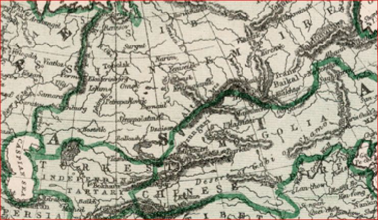 Тартария 1875 Джоунс англ