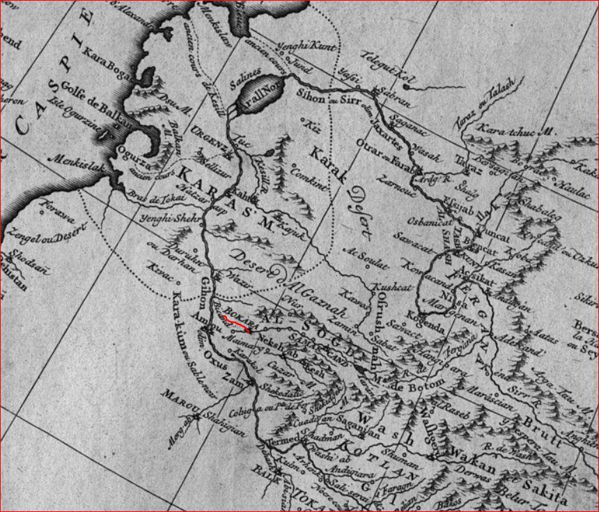 Тартария 1737 дАльвилль - 6