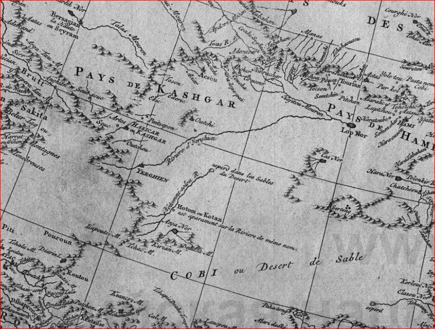 Тартария 1737 дАльвилль - 7
