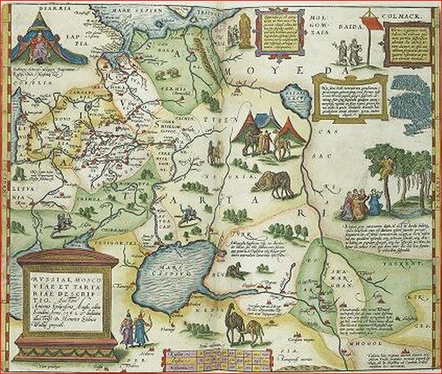 Ортелий 1579 2