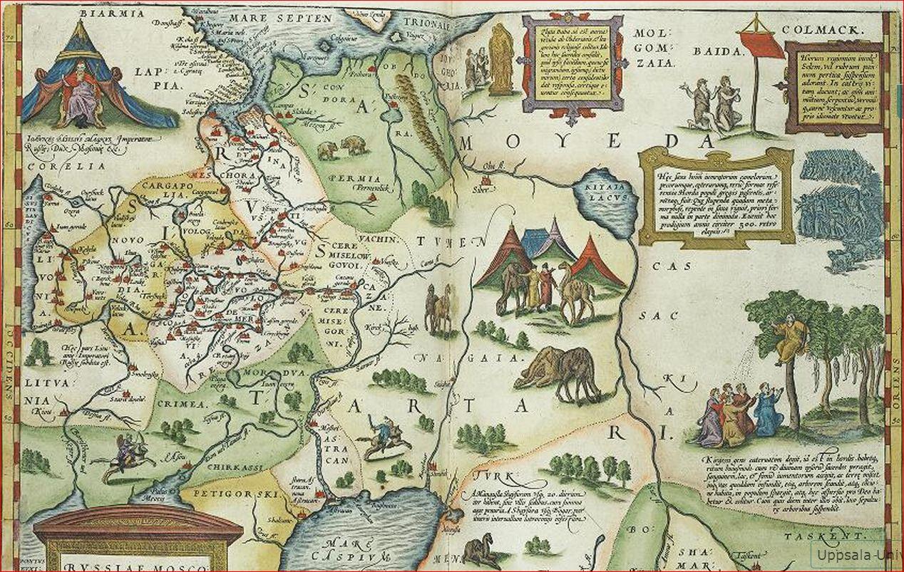 Ортелий 1579 5