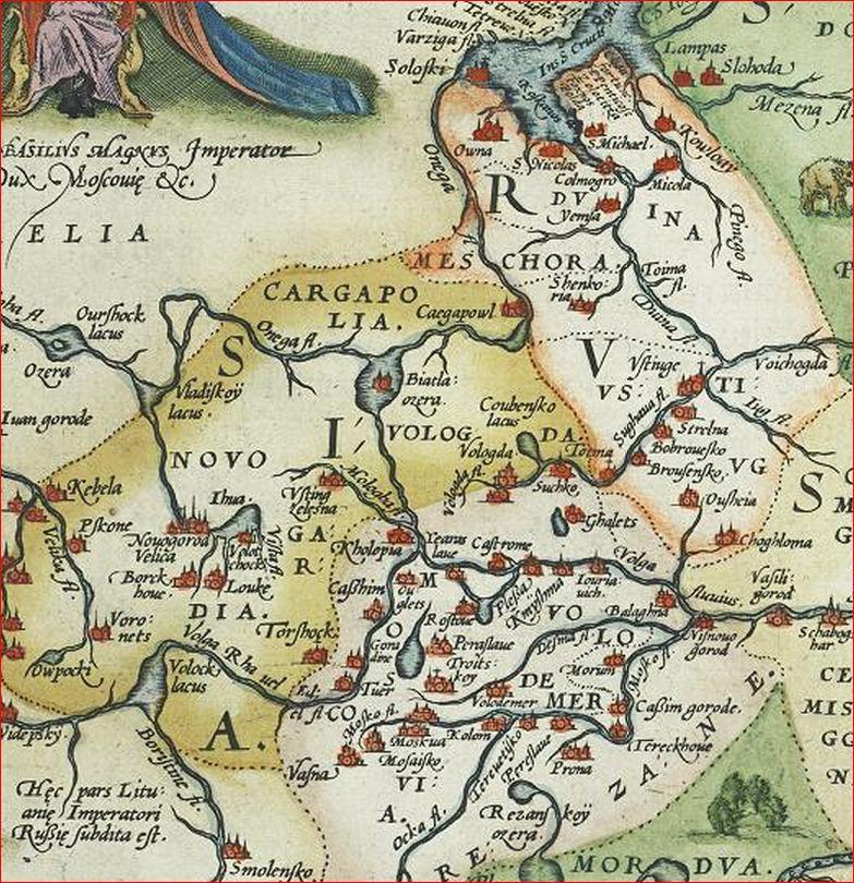 Ортелий 1579 6