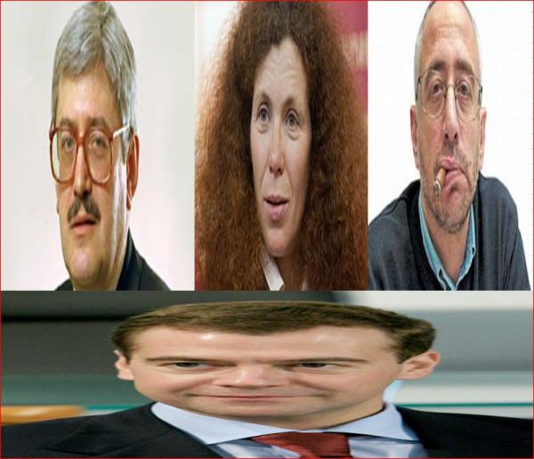 Пивоваров, Латынина, Сванидзе, Медведев