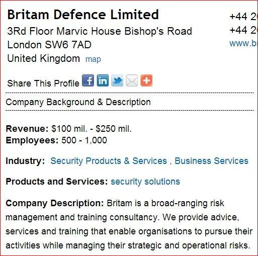 Britam Defence Limited