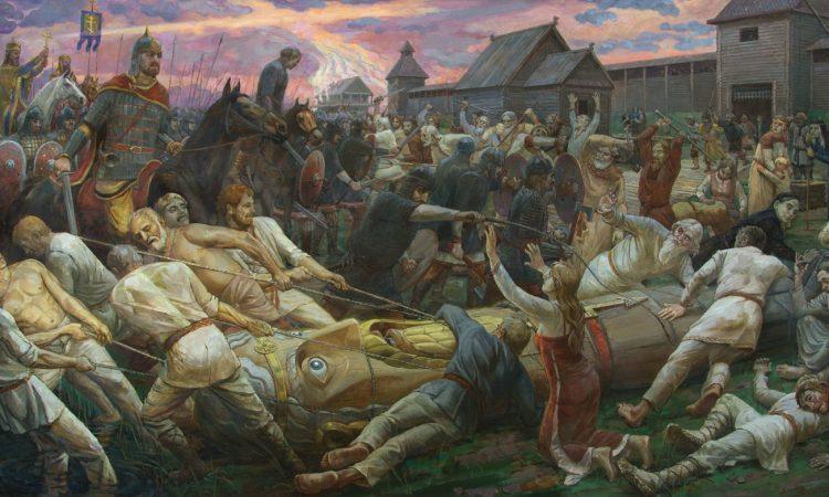 Крещение Руси огнём и мечом