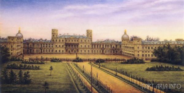 Строил ли Антонио Ринальди Гатчинский дворец?