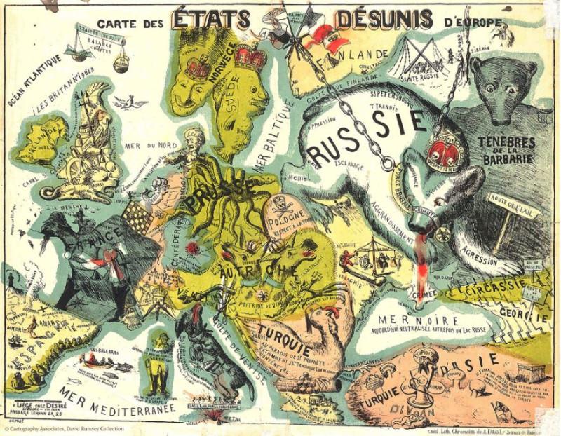 Россия - злой медведь