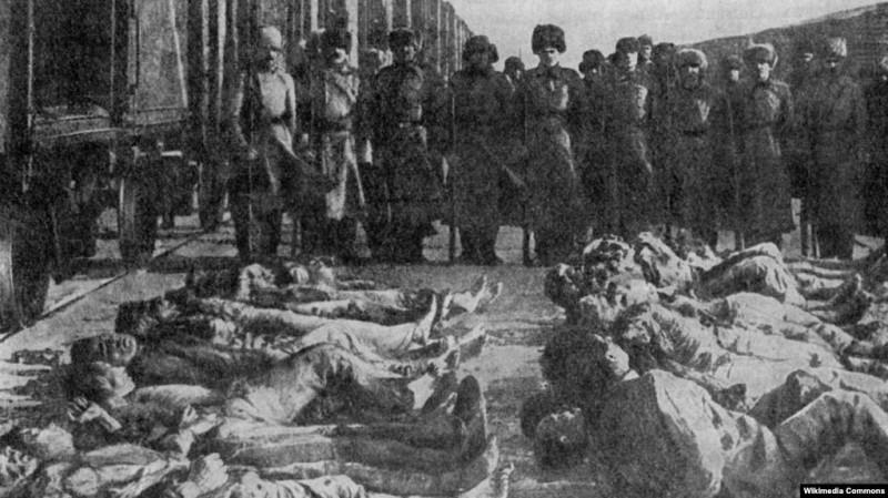 Колчаковский террор в Сибири