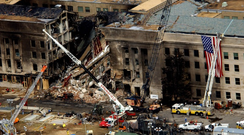 Самолет протаранил бухгалтерию Пентагона, и 2,3 триллиона долларов бесследно исчезли
