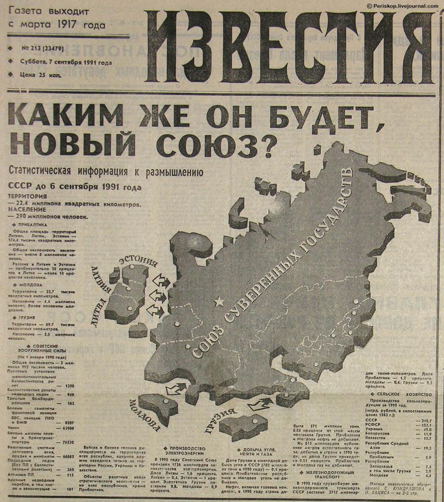 Пропаганда распада СССР