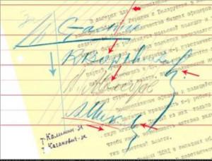 Подделка подписи Анастаса Микояна