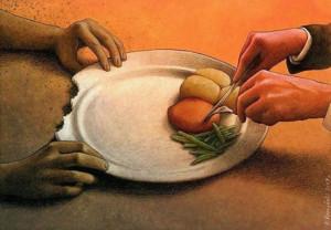 Распределённая бедность
