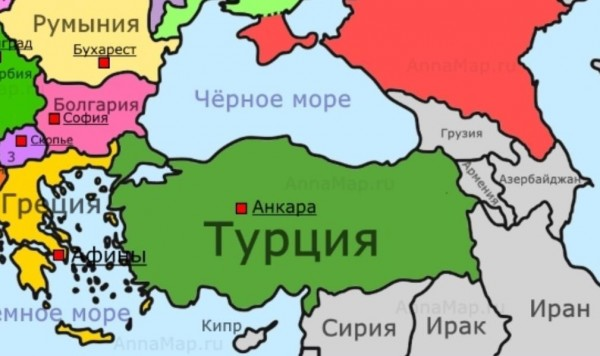 Турция и её соседи