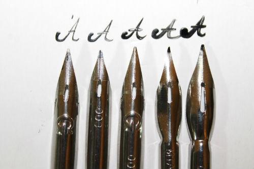 Писать перьевой ручкой