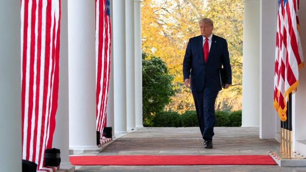 Трамп об украденных выборах