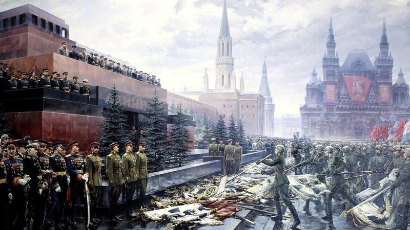 С Днём Великой Победы - нашей победы над европейским фашизмом