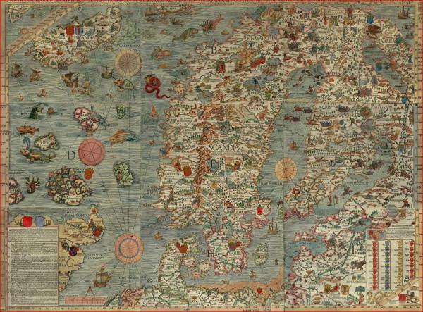 Бьярмия  карты 1